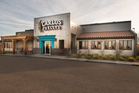Carlos O'Kelly's restaurant construction