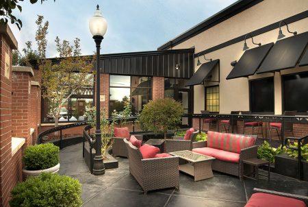 Greystone patio construction