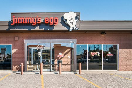 Jimmy's Egg tenant finish