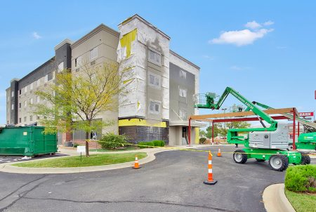 LaQuinta Inn renovation