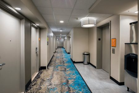 Hotel Renovation LaQuinta Hallway